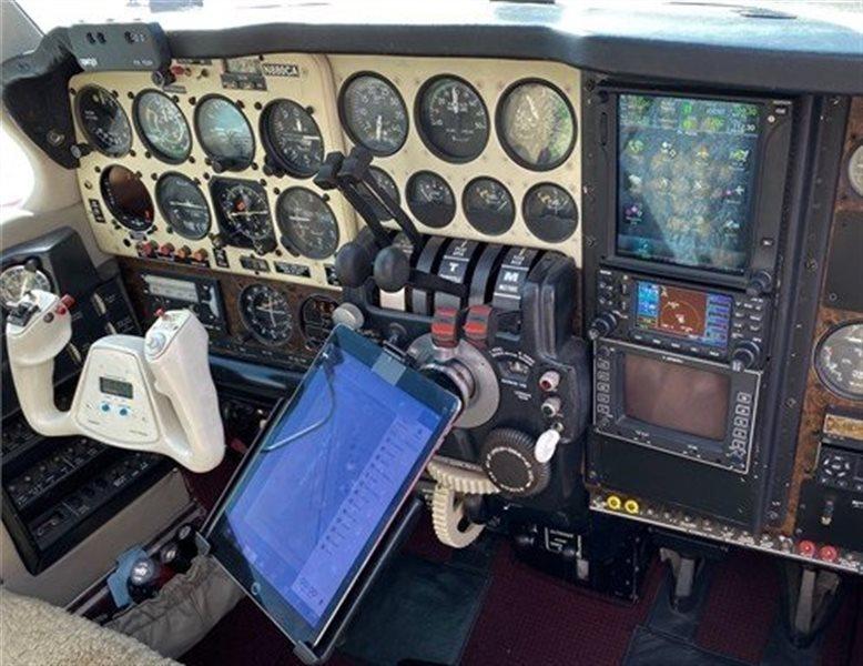 1973 Beechcraft Baron 55E Aircraft