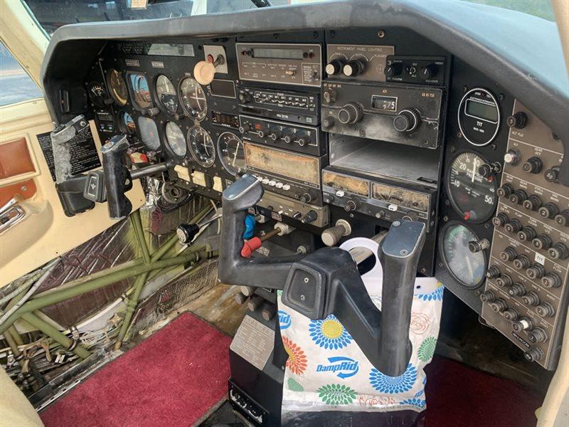 1979 Mooney M20 series K-231 Salvage Condition-Hurricane Damage
