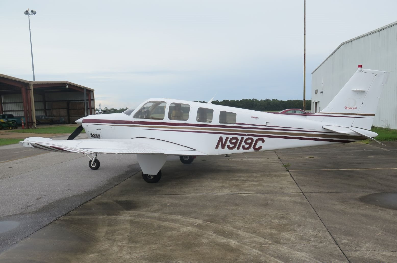 2004 Beechcraft Bonanza A36 Turbo-Normalised