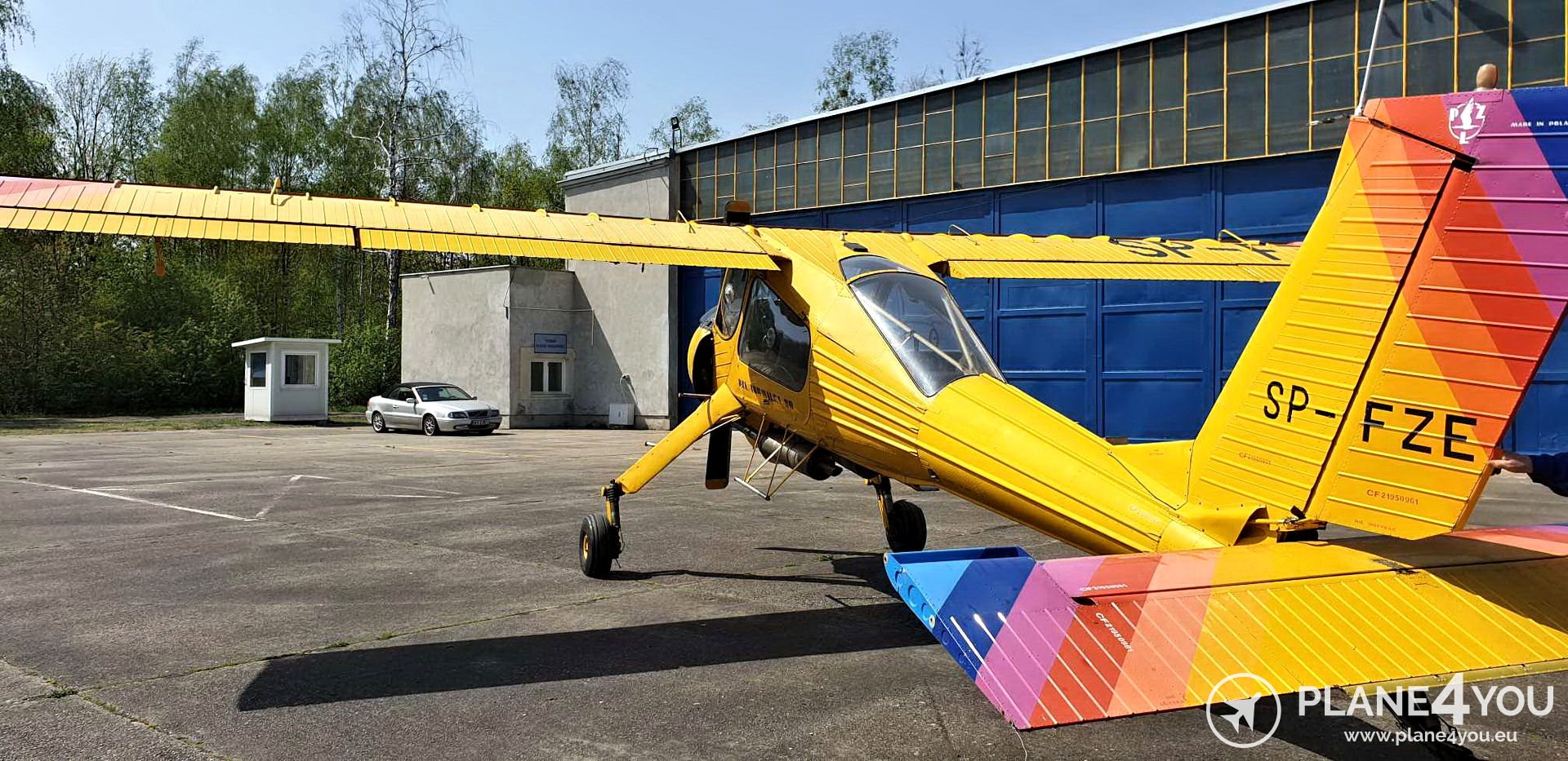 1995 PZL 104 Wilga 80 version