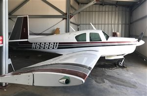1964 Mooney M20 series E Super 21