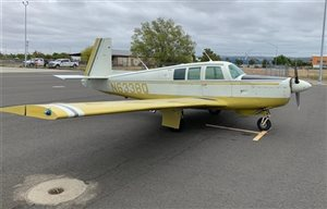 1967 Mooney M20 series F
