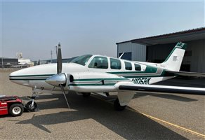 1979 Beechcraft Baron 58TC Aircraft
