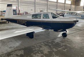 1977 Mooney 201 M20J Aircraft