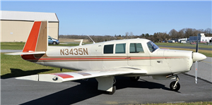 1968 Mooney M20 series