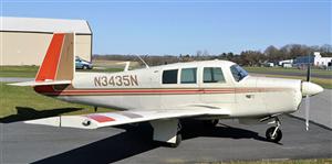 1968 Mooney M20 series