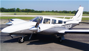 1977 Piper Seneca II Aircraft