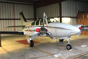 1965 Beechcraft Baron 55 B Aircraft