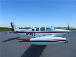 1996 Beechcraft Bonanza A36 Turbo-Normalised