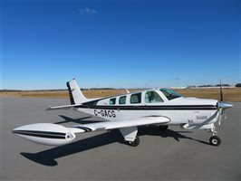 1997 Beechcraft Bonanza A36 Turbo-Normalised