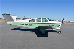 1958 Beechcraft Bonanza J35 Aircraft