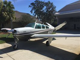 1975 Beechcraft Bonanza V35B IO 550 Conversion