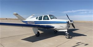 1957 Beechcraft Bonanza J35 with Glass Panel
