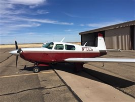 1980 Mooney M20 series K