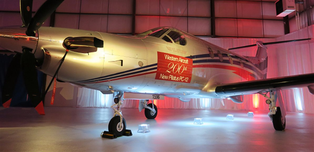 Western Aircraft Celebrates Milestone 200th New Pilatus PC-12 Sale