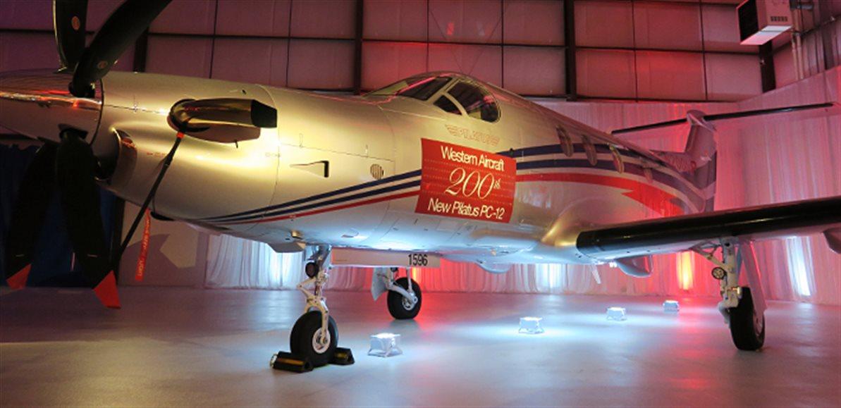 Western Aircraft Celebrates Milestone 200th New Pilatus PC-12 Sale