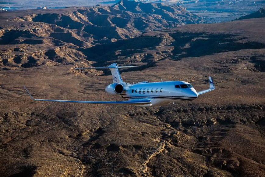 Gulfstream G650ER adds another speed record - Sydney to LAX