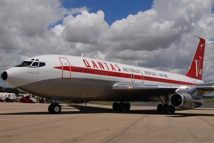 John Travolta Donates his 707 to HARS