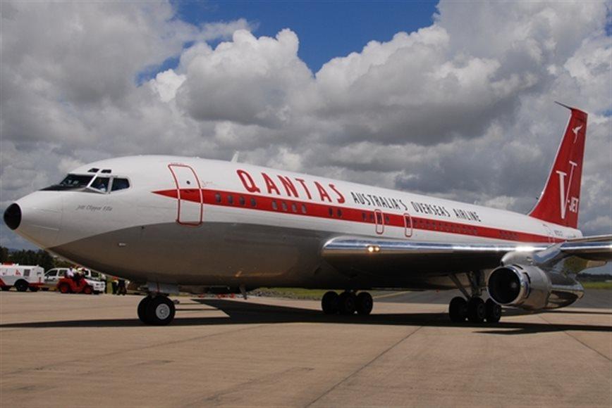John Travolta Donates his 707 to HARS