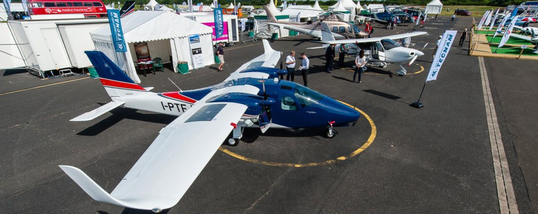 Sales success at AeroExpo UK 2018